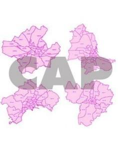 Carte dei CAP delle città ShapeFile