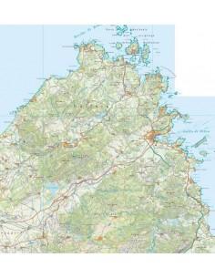 Mappa della provincia di Olbia-Tempio pdf scala 1:200.000