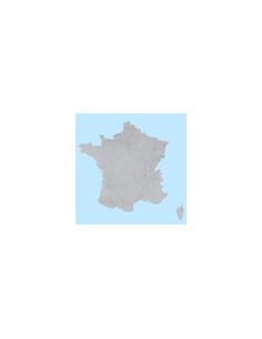 Mappa dei CAP della Francia