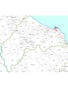 Mappa dei CAP della provincia di Ancona jpg