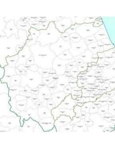 Mappa dei CAP della provincia di Macerata jpg