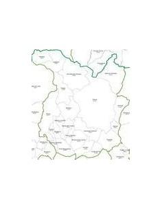 Mappa dei CAP della provincia di Pistoia jpg