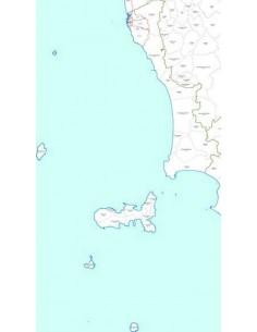 Mappa dei CAP della provincia di Livorno jpg