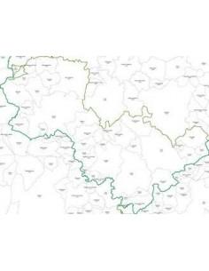 Mappa dei CAP della provincia di Terni jpg