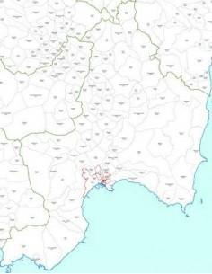 Mappa dei CAP della provincia di Cagliari jpg