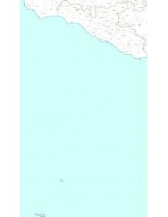 Mappa dei CAP della provincia di Agrigento jpg