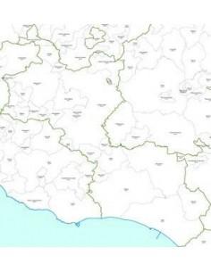 Mappa dei CAP della provincia di Caltanissetta jpg