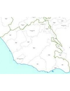 Mappa dei CAP della provincia di Ragusa jpg