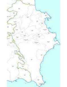 Mappa dei CAP della provincia di Siracusa jpg