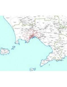 Mappa dei CAP della provincia di Napoli jpg