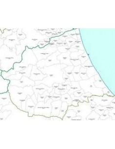 Mappa dei CAP della provincia di Teramo jpg