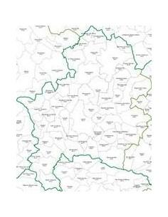 Mappa dei CAP della provincia di Isernia jpg