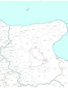Mappa dei CAP della provincia di Foggia jpg