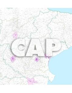 Mappa dei CAP del Veneto jpg