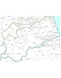 Mappa dei CAP della provincia di Ascoli Piceno pdf
