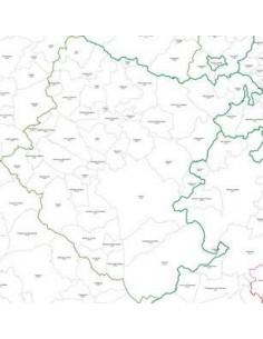 Mappa dei CAP della provincia di Arezzo pdf