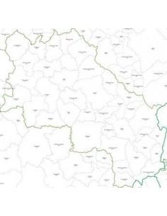 Mappa dei CAP della provincia di Siena pdf