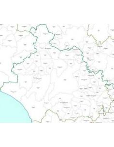Mappa dei CAP della provincia di Viterbo pdf