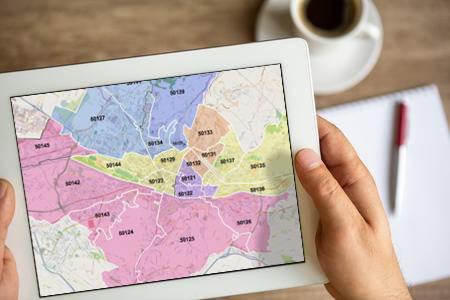 Mappe dei CAP PowerPoint