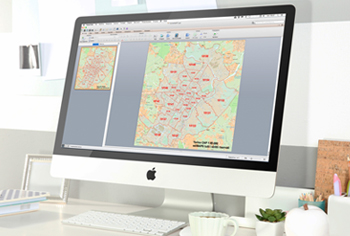 mappa cap torino powerpoint